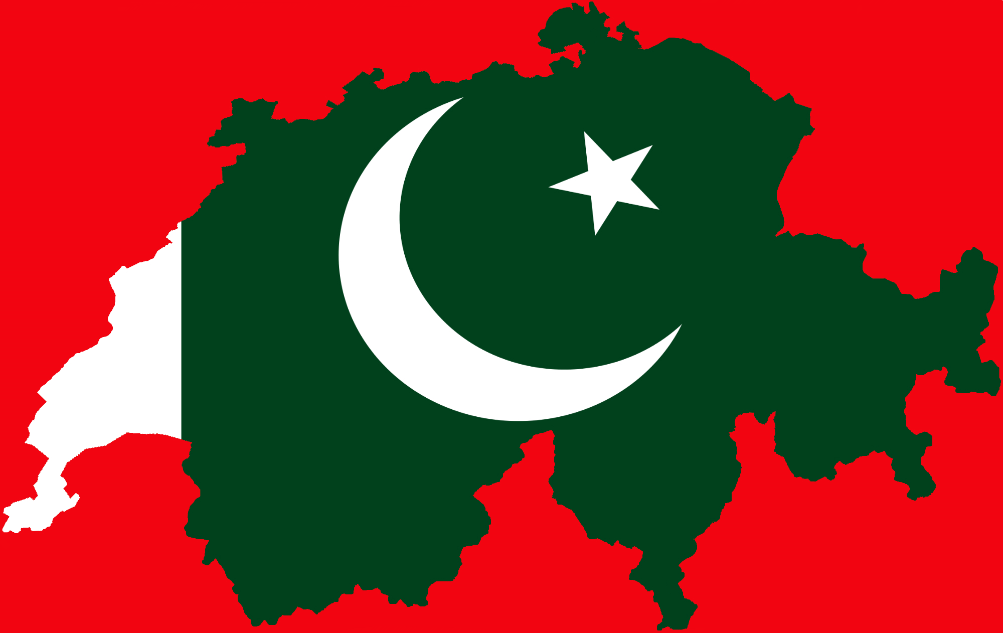 Pakistanis in Switzerland Logo
